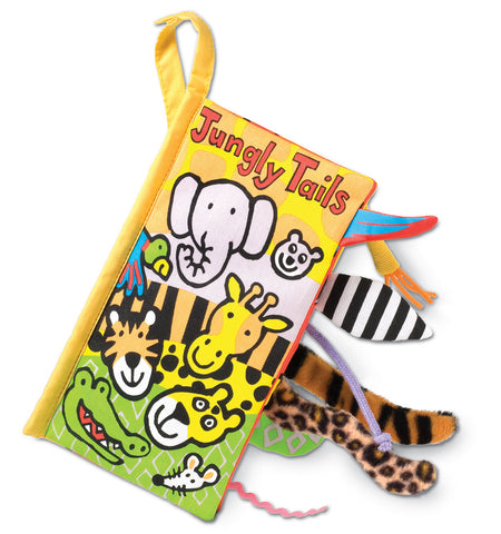 Jellycat Soft Book Jungly Tails