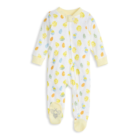 Burt's Bees Baby Sleep & Play Organic Pajamas Spring Chicks