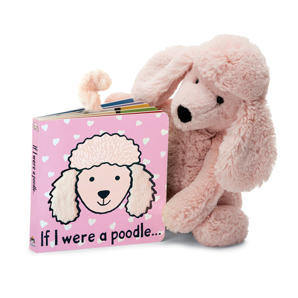 Jellycat Board Book If I were a Poodle