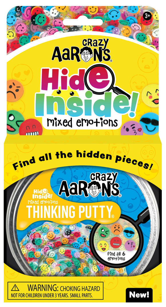 Crazy Aaron's Thinking Putty Hide Inside! Mixed Emotions