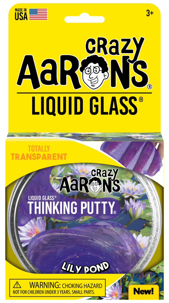 Crazy Aaron's Thinking Putty Liquid Glass - Lily Pond
