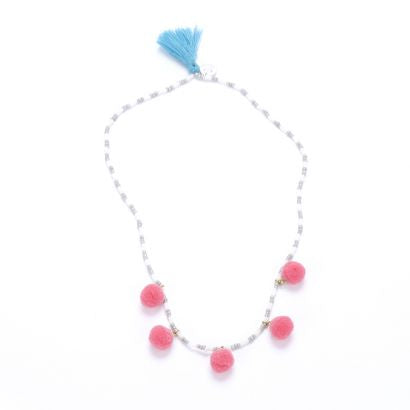 Peppercorn Kids Pom Pom Necklace
