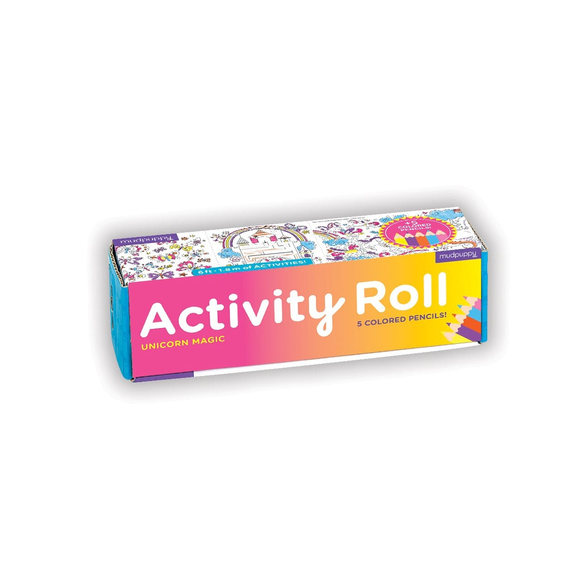 Mudpuppy Activity Roll - Unicorn Magic