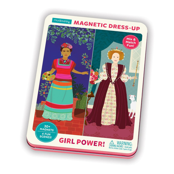 Mudpuppy Magnetic Dress-Up - Girl Power