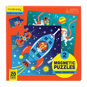 Mudpuppy Magnetic Puzzles - Space Adventure
