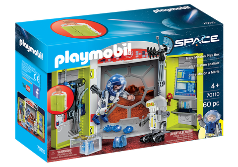 Playmobil Space: Mars Mission Play Box