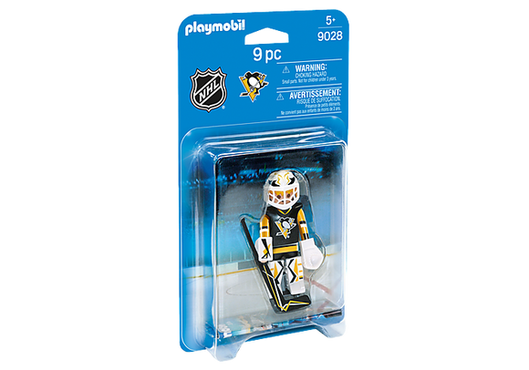 Playmobil NHL® Pittsburgh Penguins Goalie