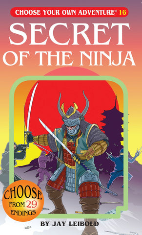 Choose Your Own Adventure: Secret Of The Ninja