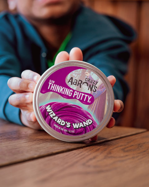 Crazy Aaron's Thinking Putty Wizard's Wand