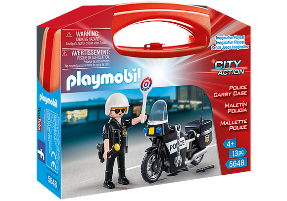 Playmobil City Action: Police Carry Case