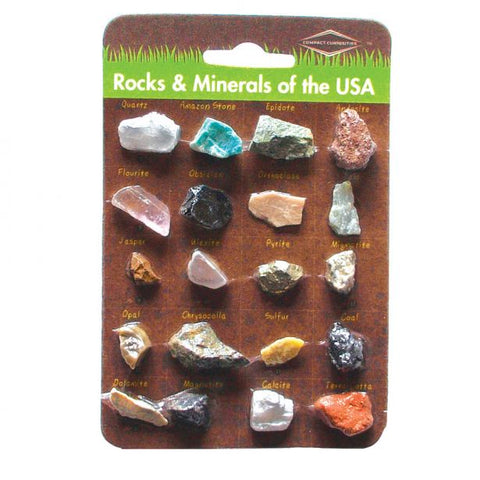 Copernicus Rocks and Minerals of the USA