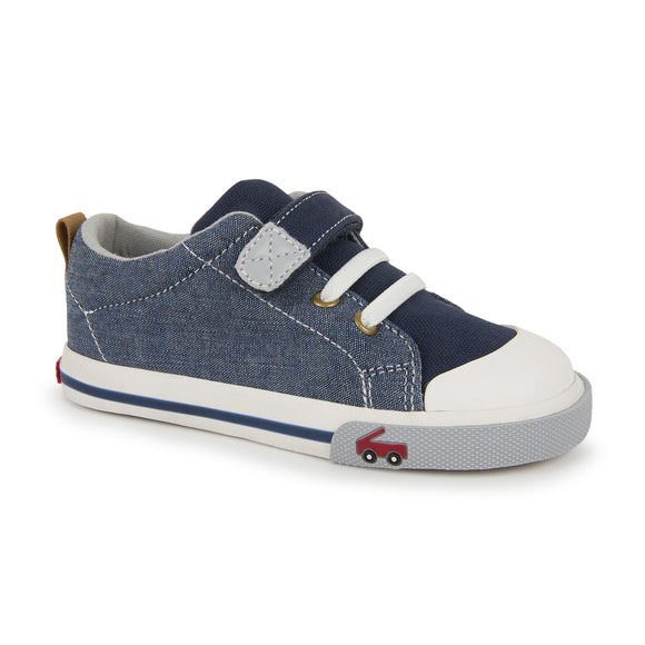See Kai Run Stevie II Sneaker Chambray