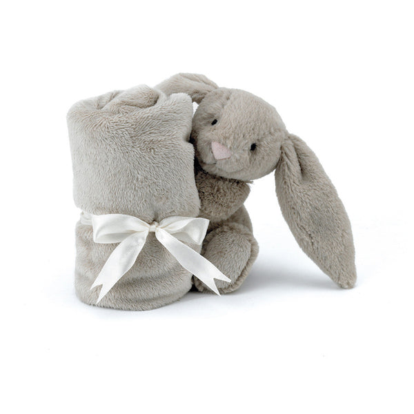 Little Jellycat Bashful Bunny Beige Soother