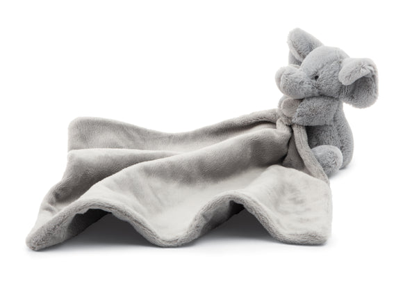 Little Jellycat Bashful Grey Elephant Soother