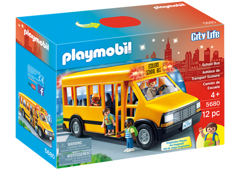 Playmobil City Life: School Bus