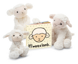 Jellycat Board Book If I Were A Lamb