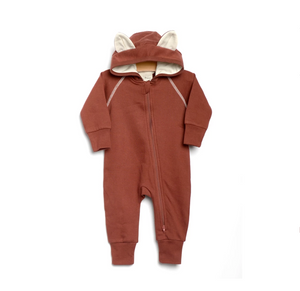 City Mouse Fox Hooded Romper