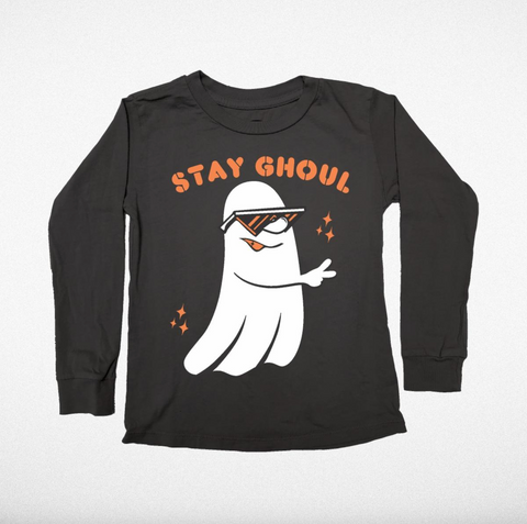 Tiny Whales Stay Ghoul Long Sleeve Tee
