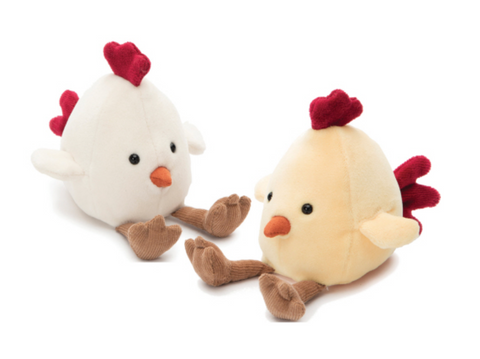 By Jellycat: Amuseables Chick Assortment 5""