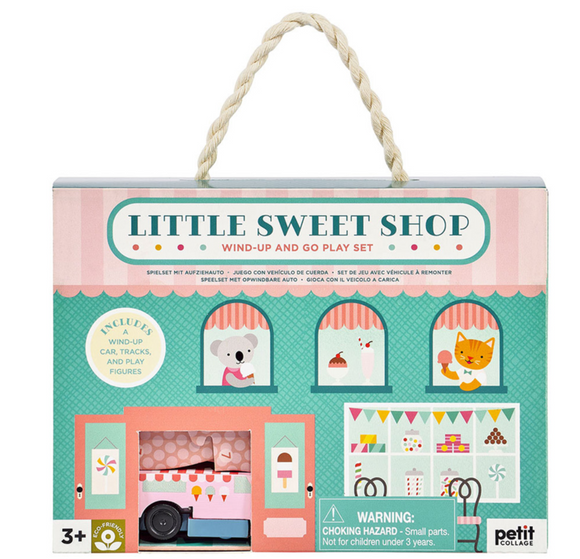 Little Sweet Shop Wind-Up and Go Play Set