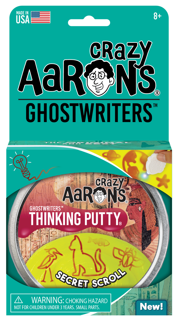 Crazy Aaron's Thinking Putty Secret Scroll
