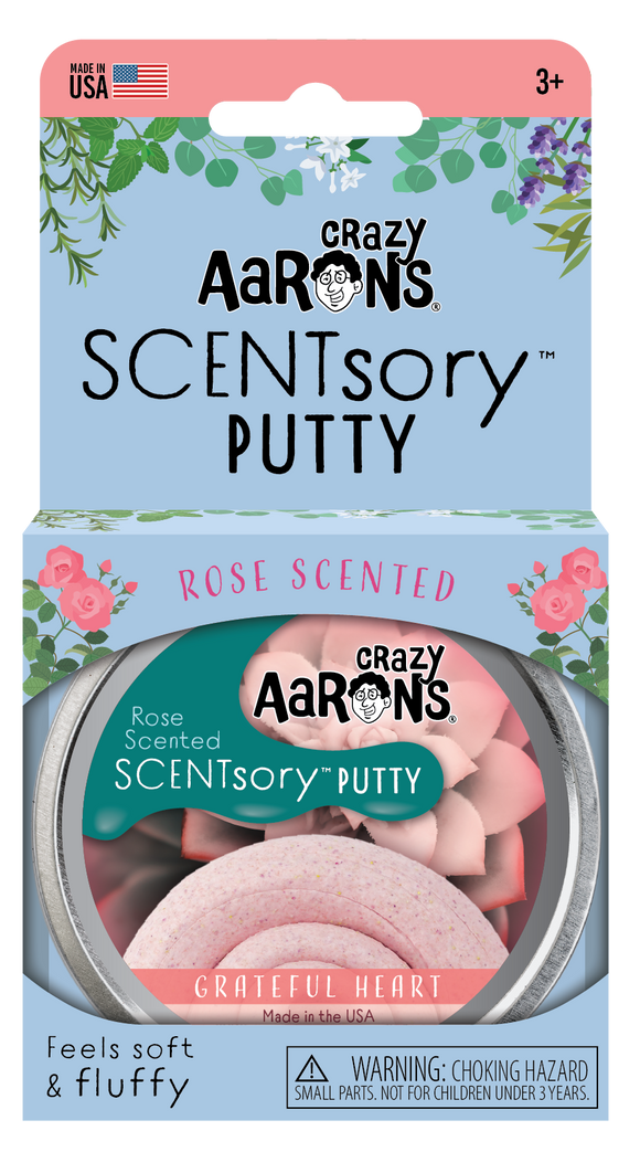 Crazy Aaron's SCENTsory™ Putty Mindfulness - Grateful Heart