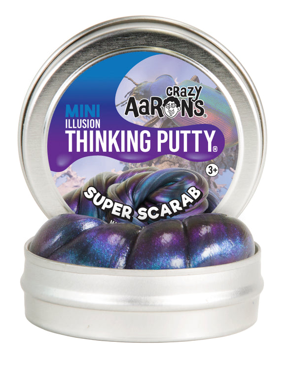 Crazy Aaron's Thinking Putty Mini Super Scarab