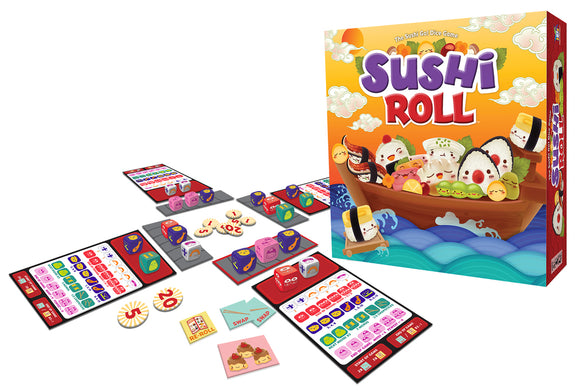 Gamewright - Sushi Roll Game