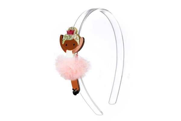 Lilies & Roses Headband Light Pink Ballerina