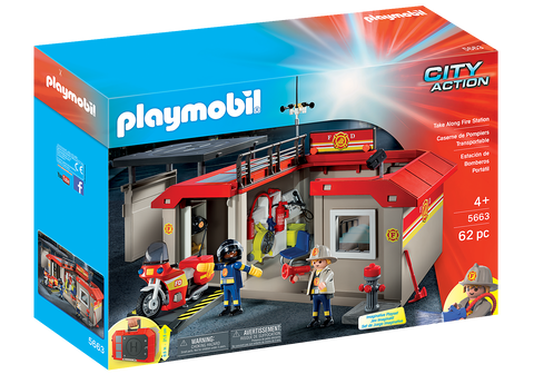 Playmobil City Action: Take Along Fire Station