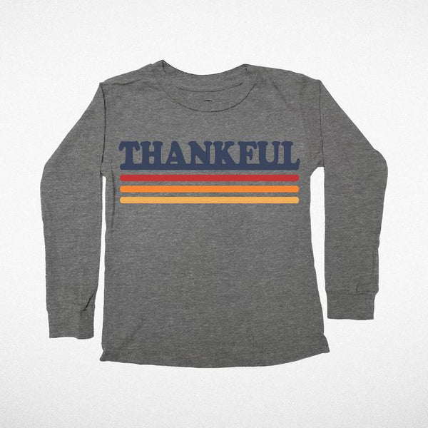 Tiny Whales Thankful Long Sleeve Tee