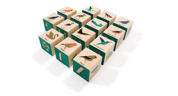 Uncle Goose Bird Blocks