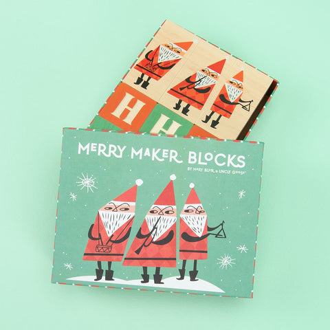 Uncle Goose Merry Makers Blocks