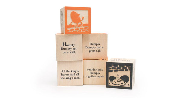 Uncle Goose Nursery Rhyme 9 Block Set