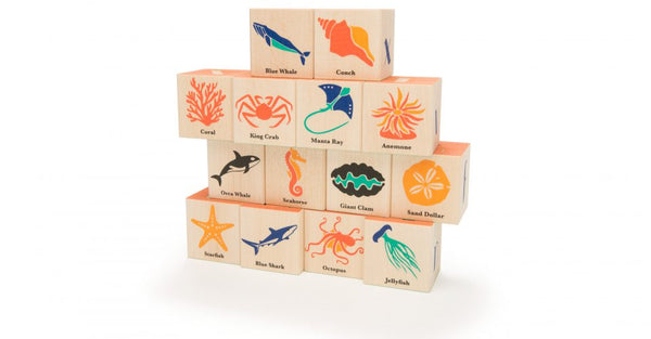 Uncle Goose Ocean Blocks