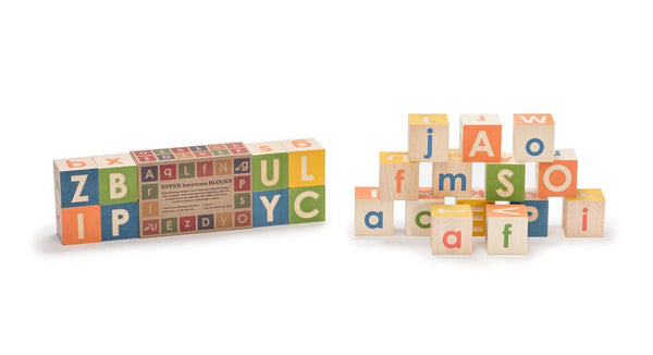 Uncle Goose Uppercase & Lowercase ABC Blocks