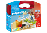 Playmobil City Life: Vet Visit Carry Case
