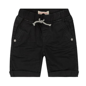 "Deux Par Deux ""Must Haves"" Canvas Short Black"
