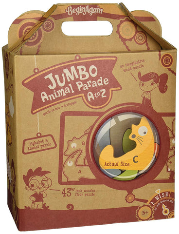 Begin Again Animal Parade A to Z Jumbo