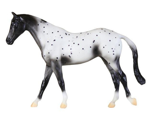 Breyer Black Semi-Leopard Appaloosa
