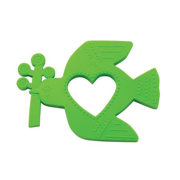 Manhattan Toy Silicone Teether Bird