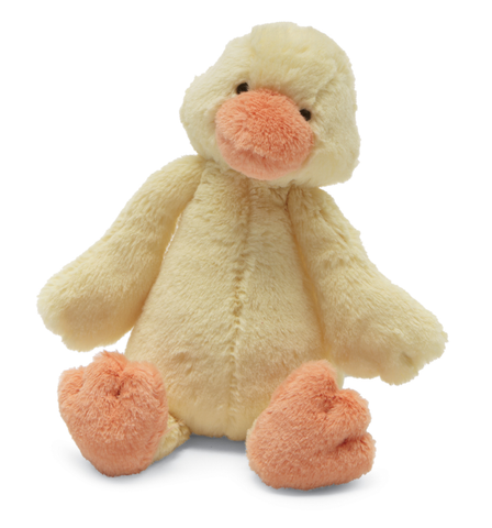 Jellycat Bashful Yellow Duckling Small 7""