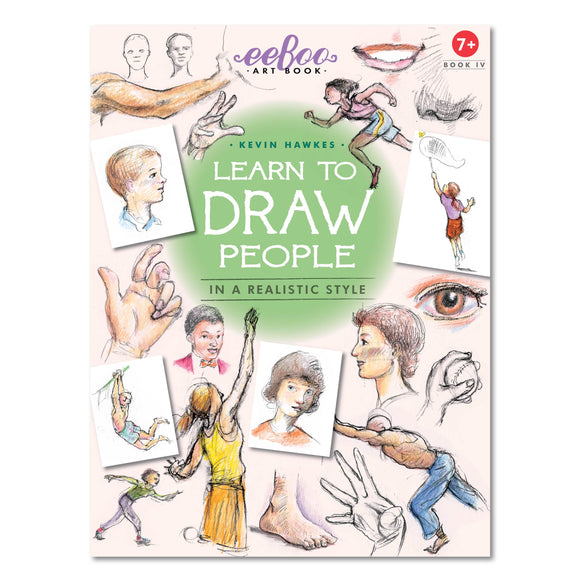 eeBoo Learn to Draw People Art Book