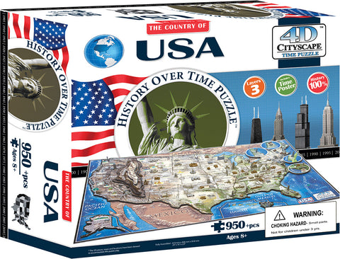 Continuum Games 4D USA Puzzle