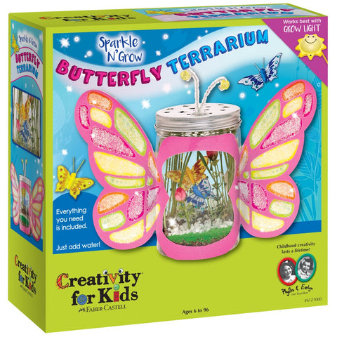 Creativity for Kids: Sparkle N' Grow Butterfly Terrarium