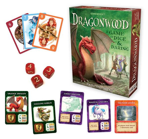 Dragonwood: A Game of Dice and Daring
