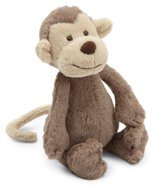 Jellycat Bashful Monkey Small 7""