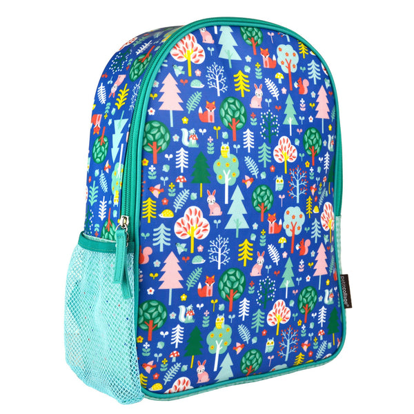 Petit Collage Eco-Friendly Backpack Woodland