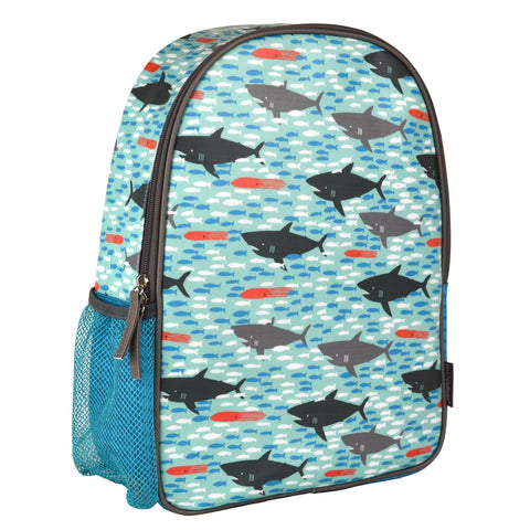 Petit Collage Eco-Friendly Backpack Sharks