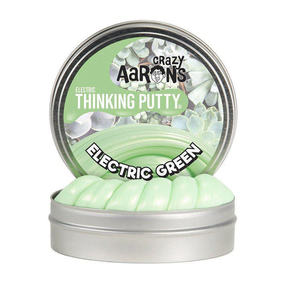 Crazy Aaron's Thinking Putty Mini Electric Green